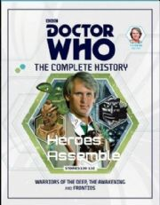 Doctor Who The Complete History Volume #09 Collectors Hardback Book Hachette Partworks